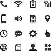 Mobile Setting Icons - Acme Series