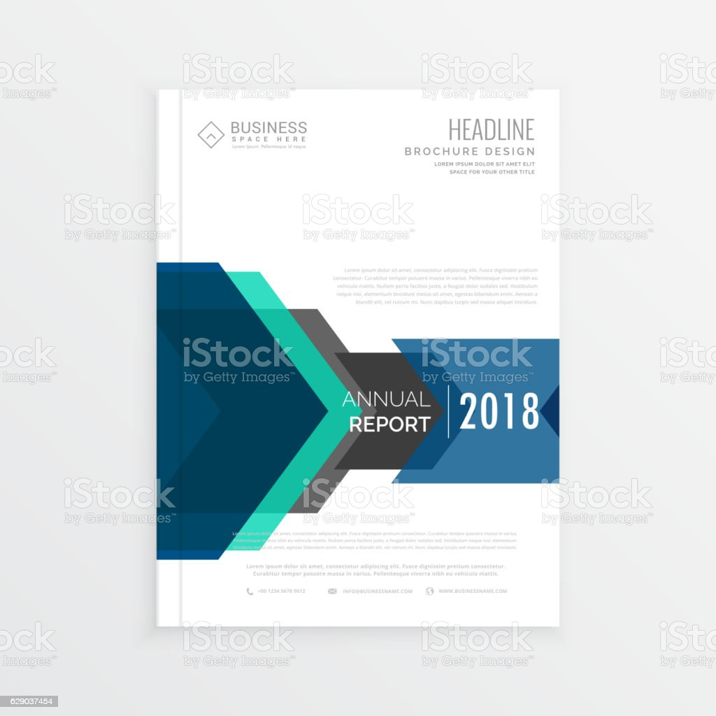 moden business magazine cover page design in a size stock vector 1 credit