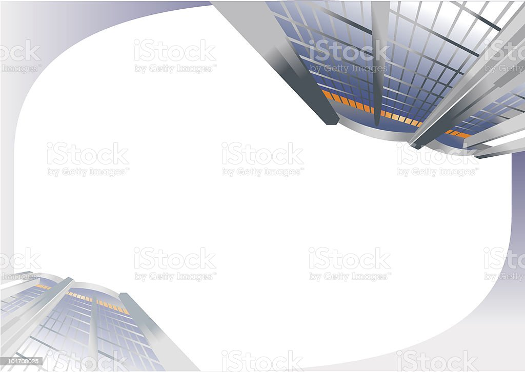Modern architectural background. royalty-free stock vector art