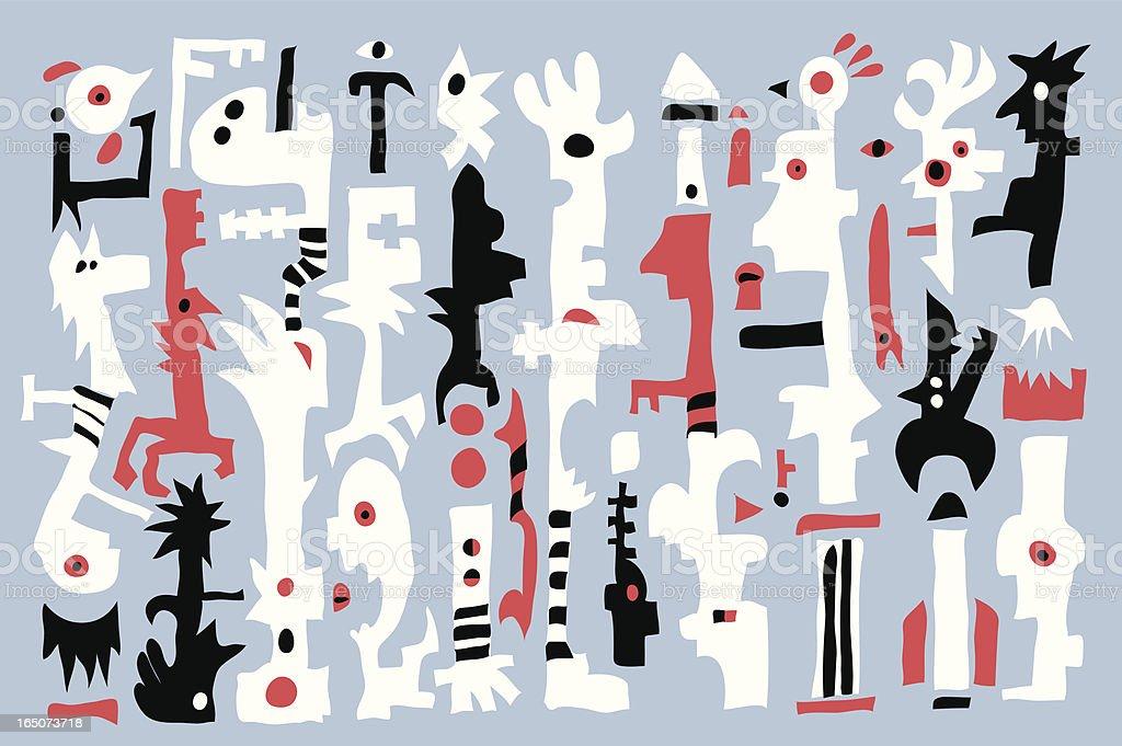 Modern Background 1 vector art illustration