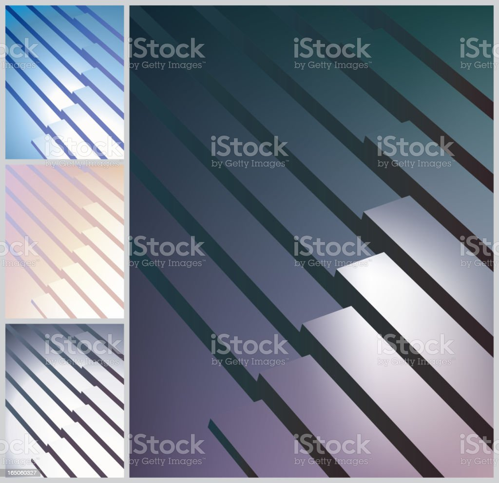 3D modern background royalty-free stock vector art
