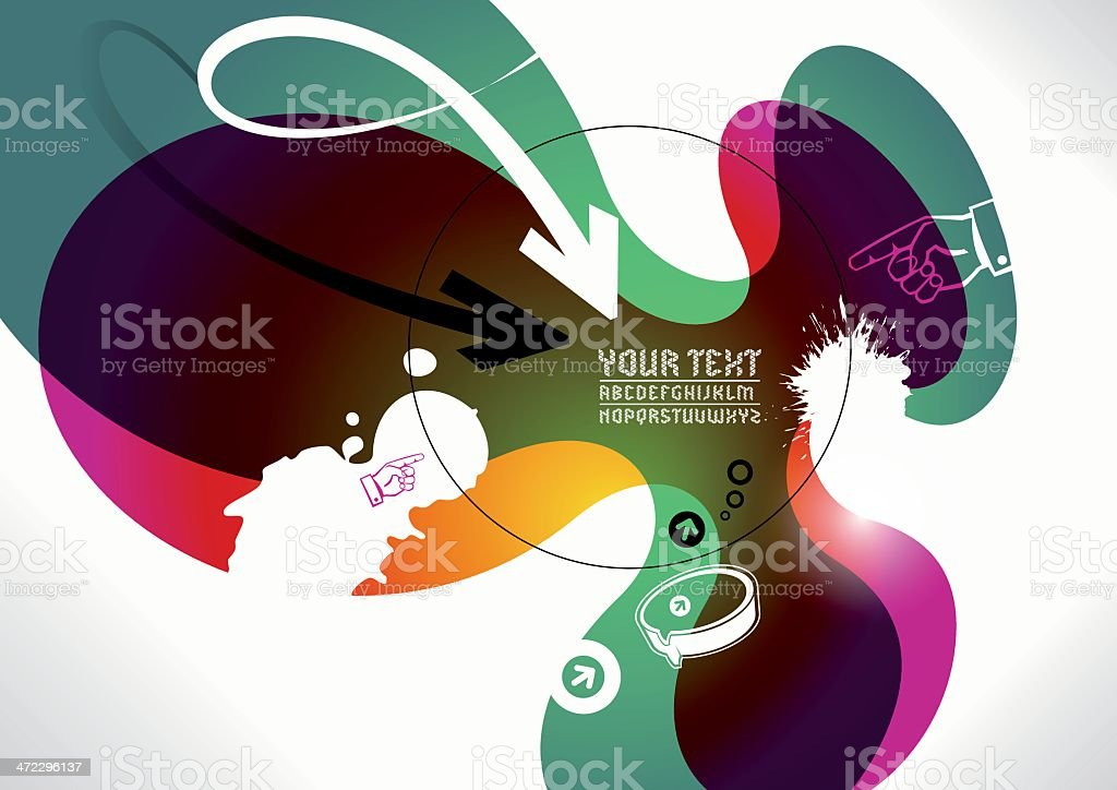 modern background vector art illustration