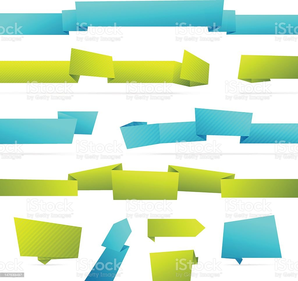 Modern Banners royalty-free stock vector art