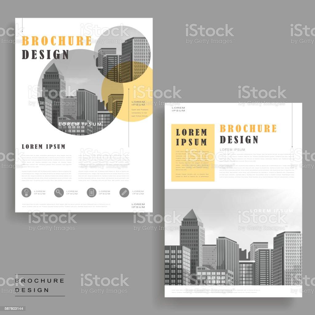 modern brochure design - modern brochure design stock vector art 587803144 istock