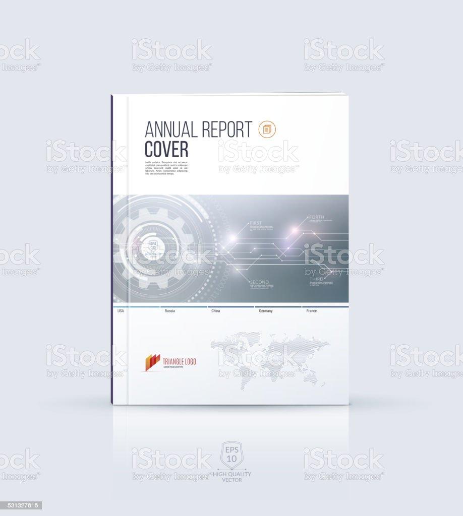 Cover design annual report magazine royalty free stock vector art - Modern Brochure Template Cover Design Annual Report Magazine Royalty Free Stock Vector