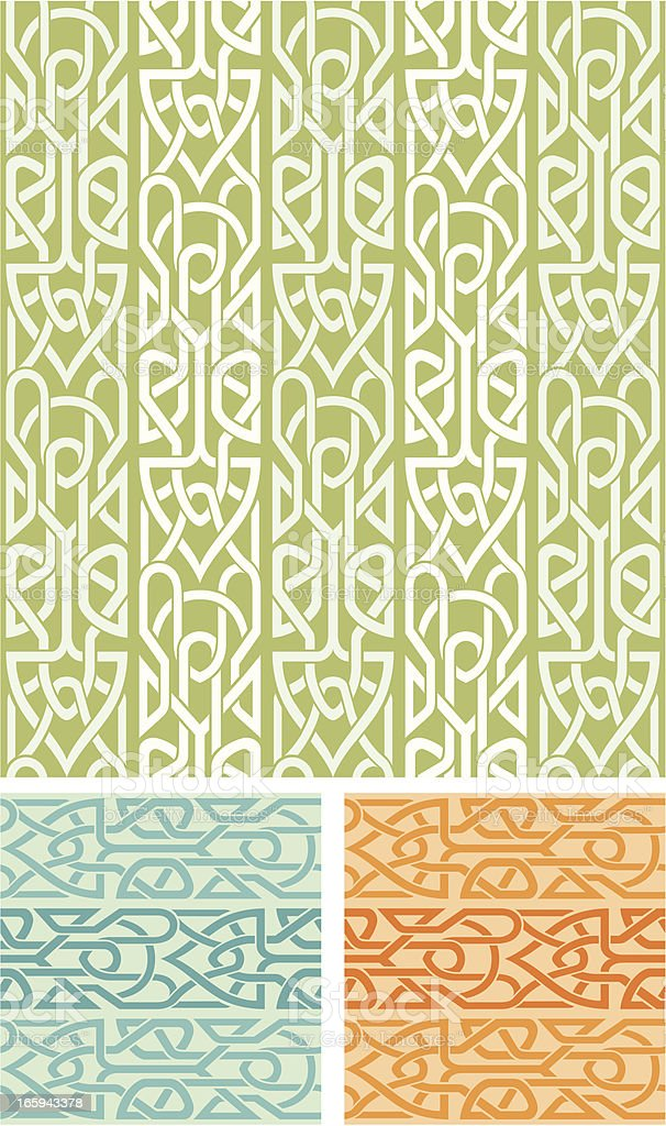 Modern Celtic Pattern royalty-free stock vector art