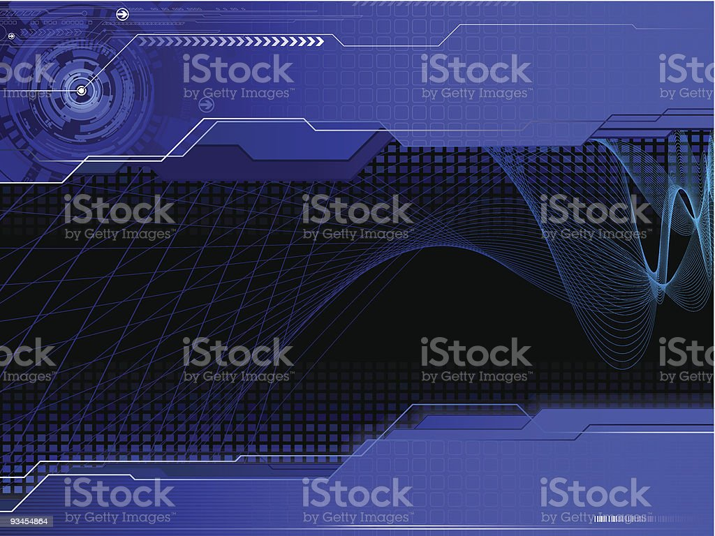 modern dark composition royalty-free stock vector art