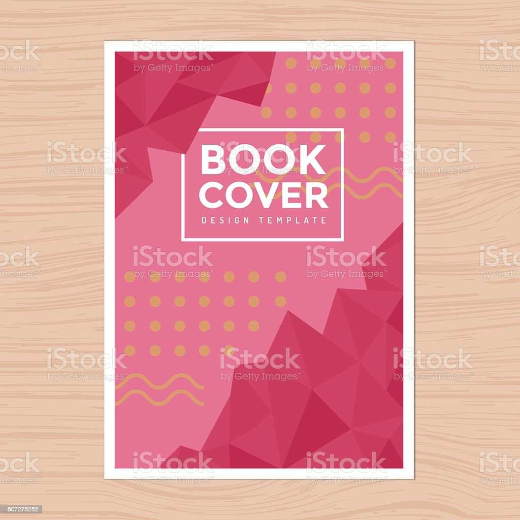 modern design book cover poster flyer layout template a4 size の