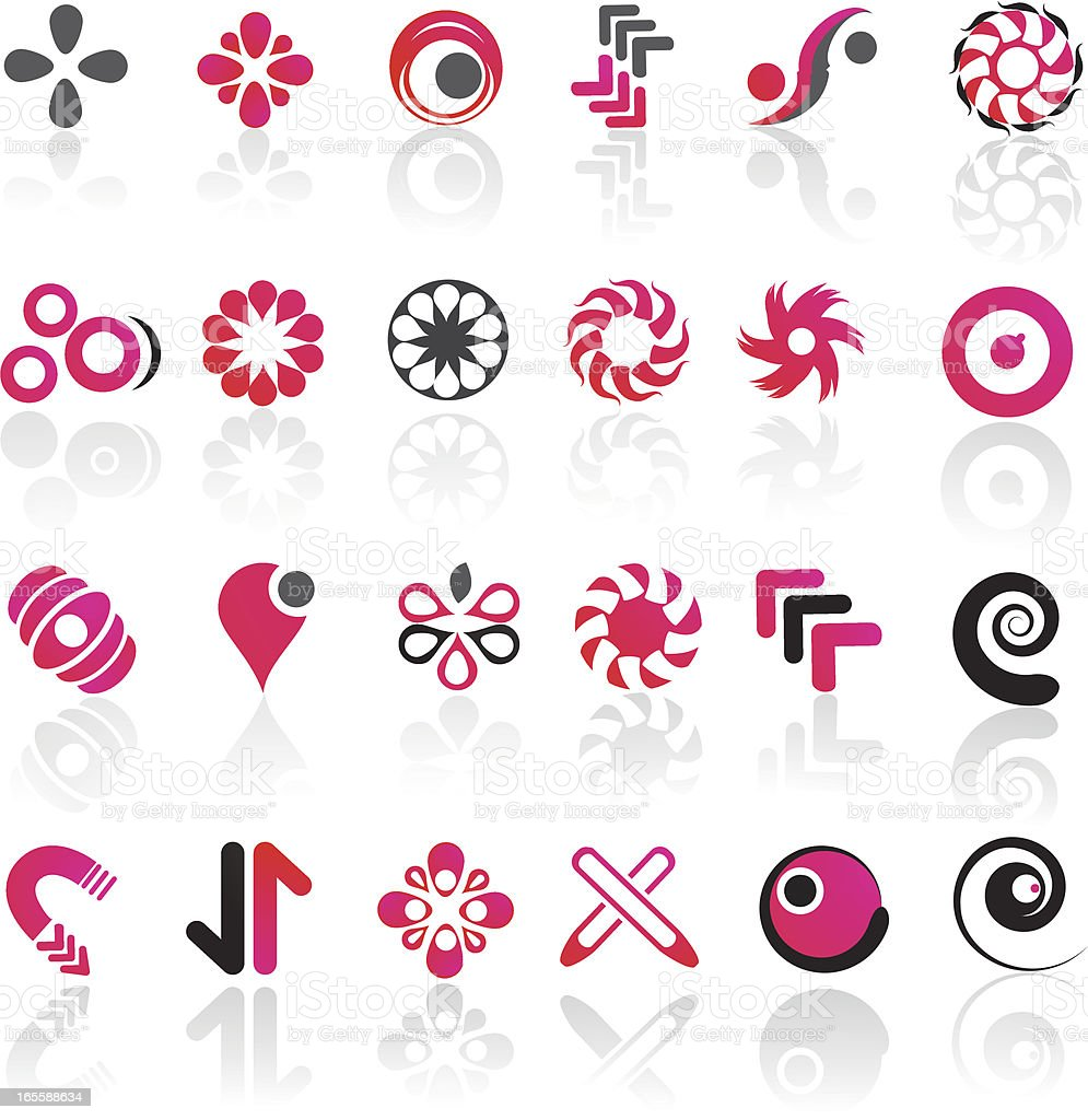 Modern Design Elements royalty-free stock vector art