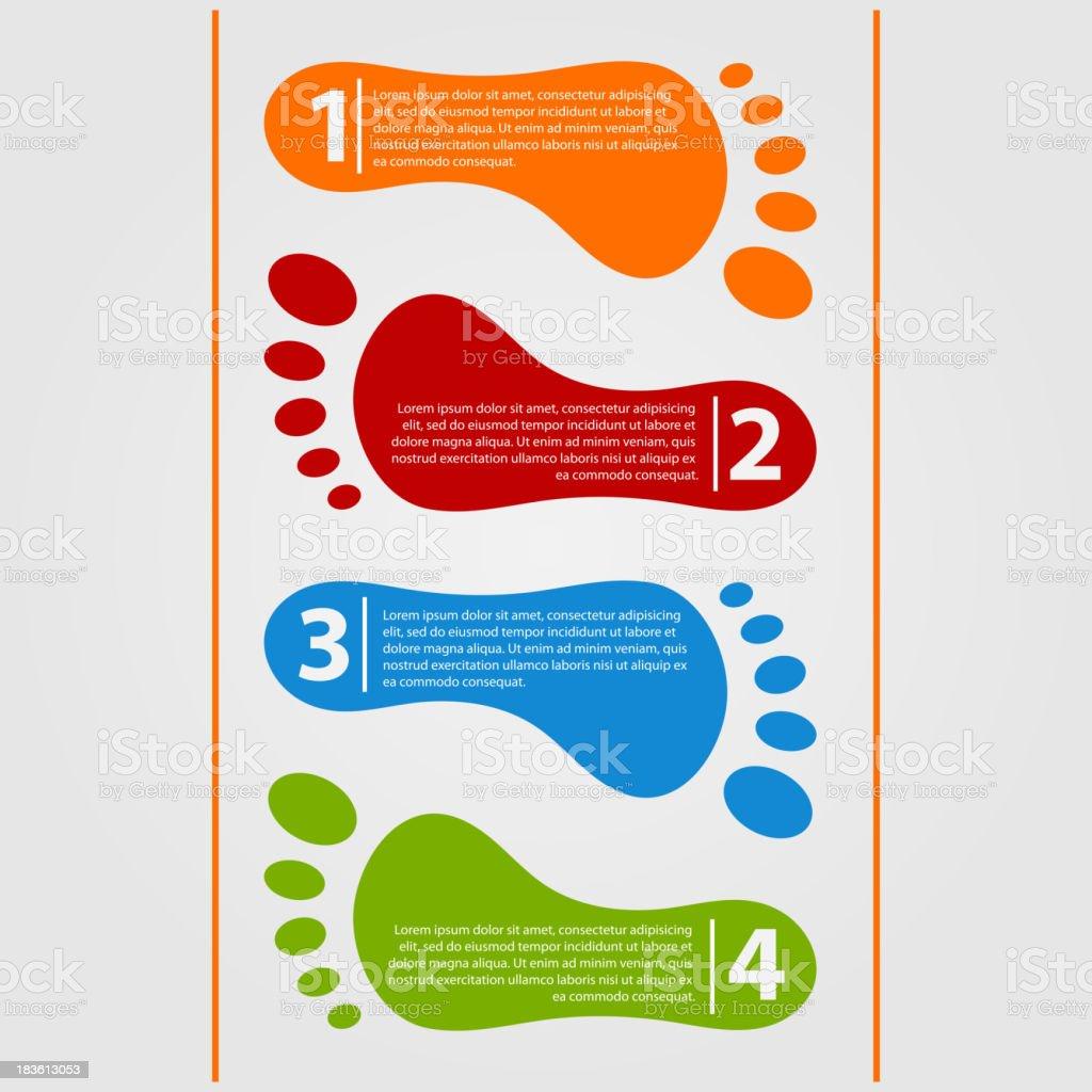 Modern design template infographics vector art illustration