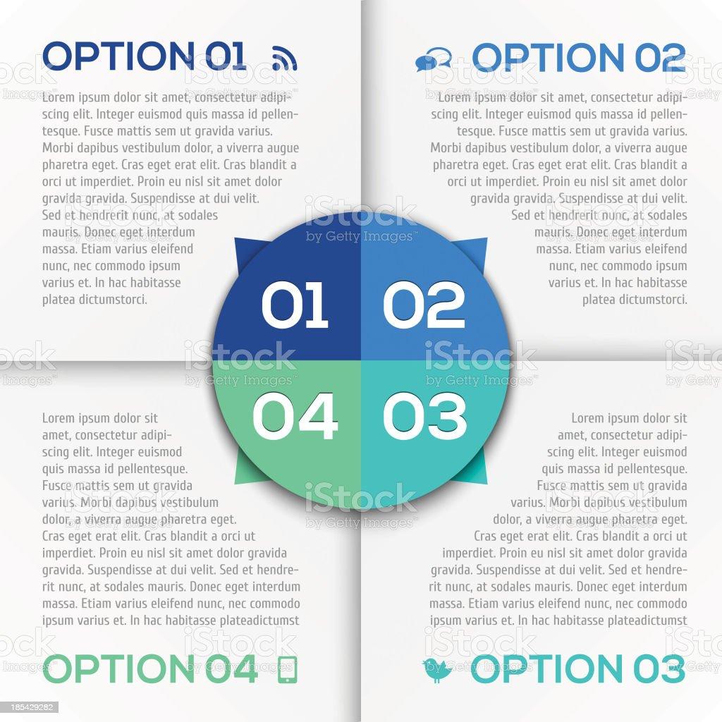 Modern Design template royalty-free stock vector art