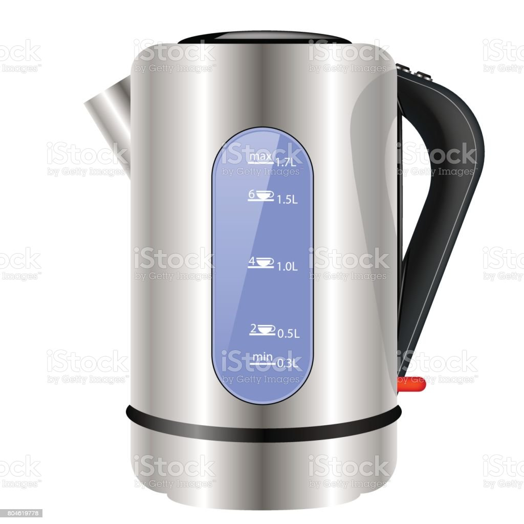 modern electric kettle icon stock vector art   istock - modern electric kettle icon royaltyfree stock vector art
