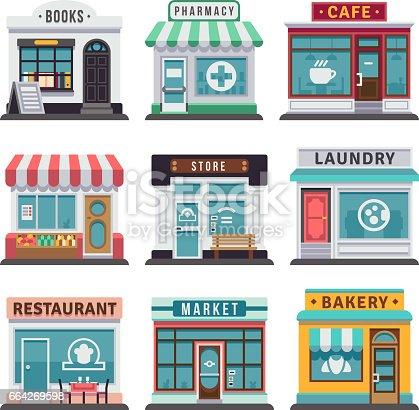 Comida r pida modernos edificios de restaurante y tienda for Planos de restaurantes modernos