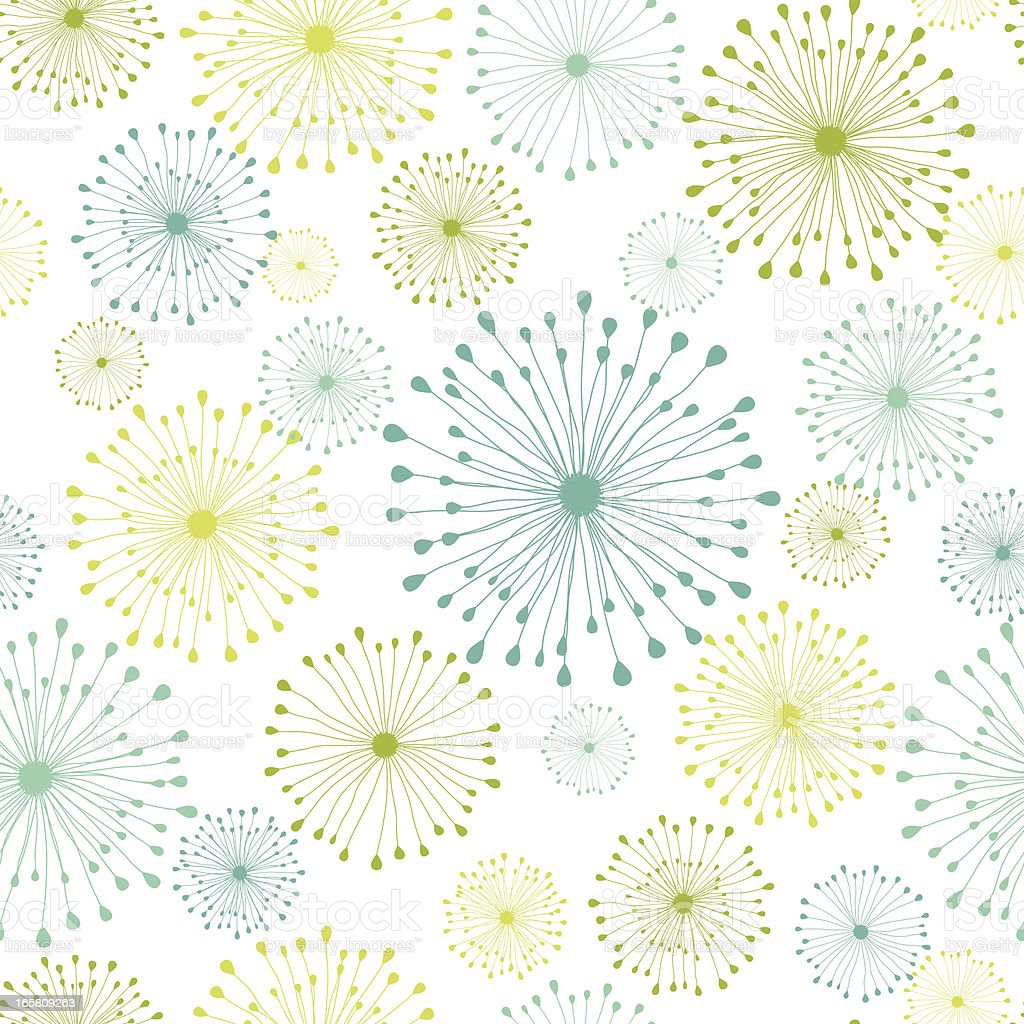 Modern Floral Seamless Pattern royalty-free stock vector art