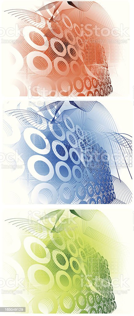 Modern futuristic design royalty-free stock vector art