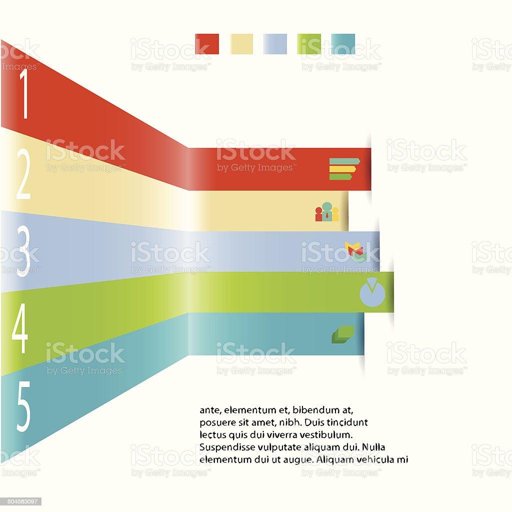 Moderna Información Elemento Gráfico Para Plantilla De Negocio ...