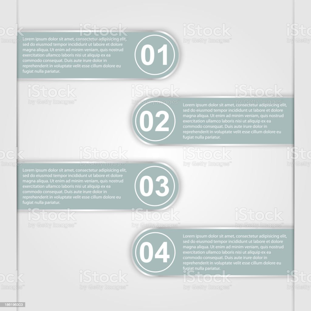 Modern infographic, design elements royalty-free stock vector art