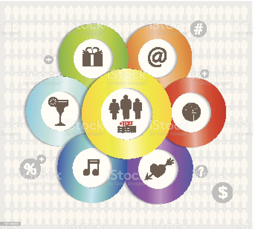 Modern Infographics elements. royalty-free stock vector art
