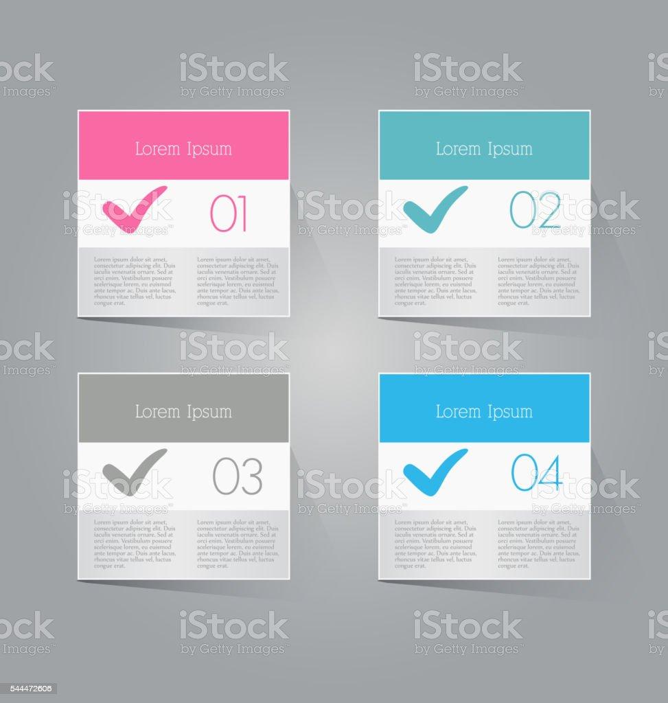 Moderno Inforgraphics Plantilla De Banners Plantillas Para Sitios ...
