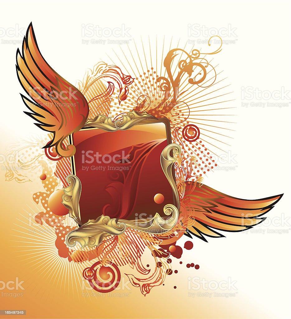 Modern insignia II royalty-free stock vector art