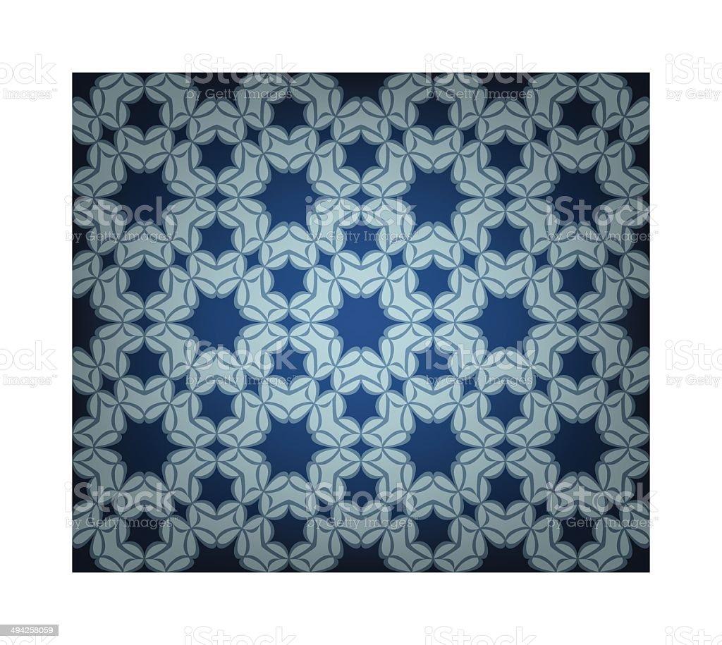 Modern Islamic Tile vector art illustration