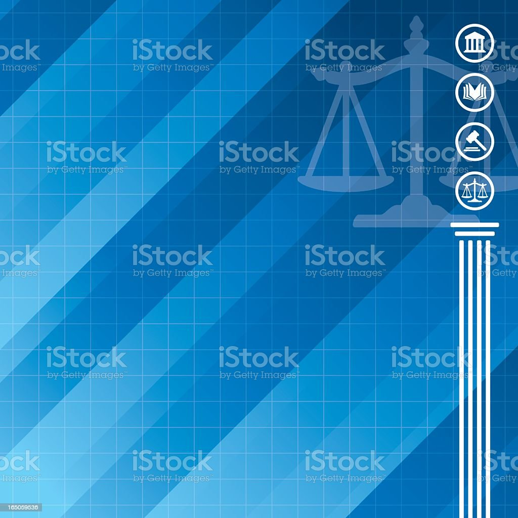 Modern Law Background royalty-free stock vector art