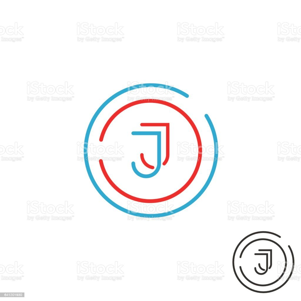 business letter outline modern letter logo monogram outline emblem business card stock modern letter logo monogram - Device Test Engineer Sample Resume