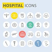 Modern medical icon set.vector illustrator