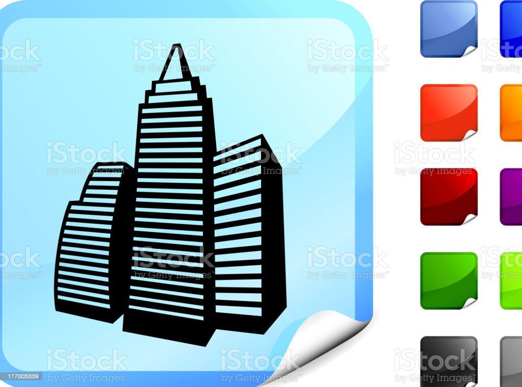 Modern Office Building internet royalty free vector art royalty-free stock vector art