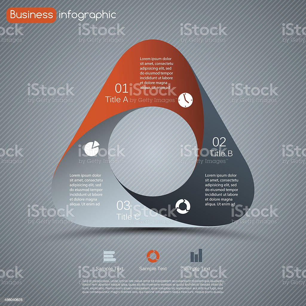 Modern vector template for your business project royalty-free stock vector art