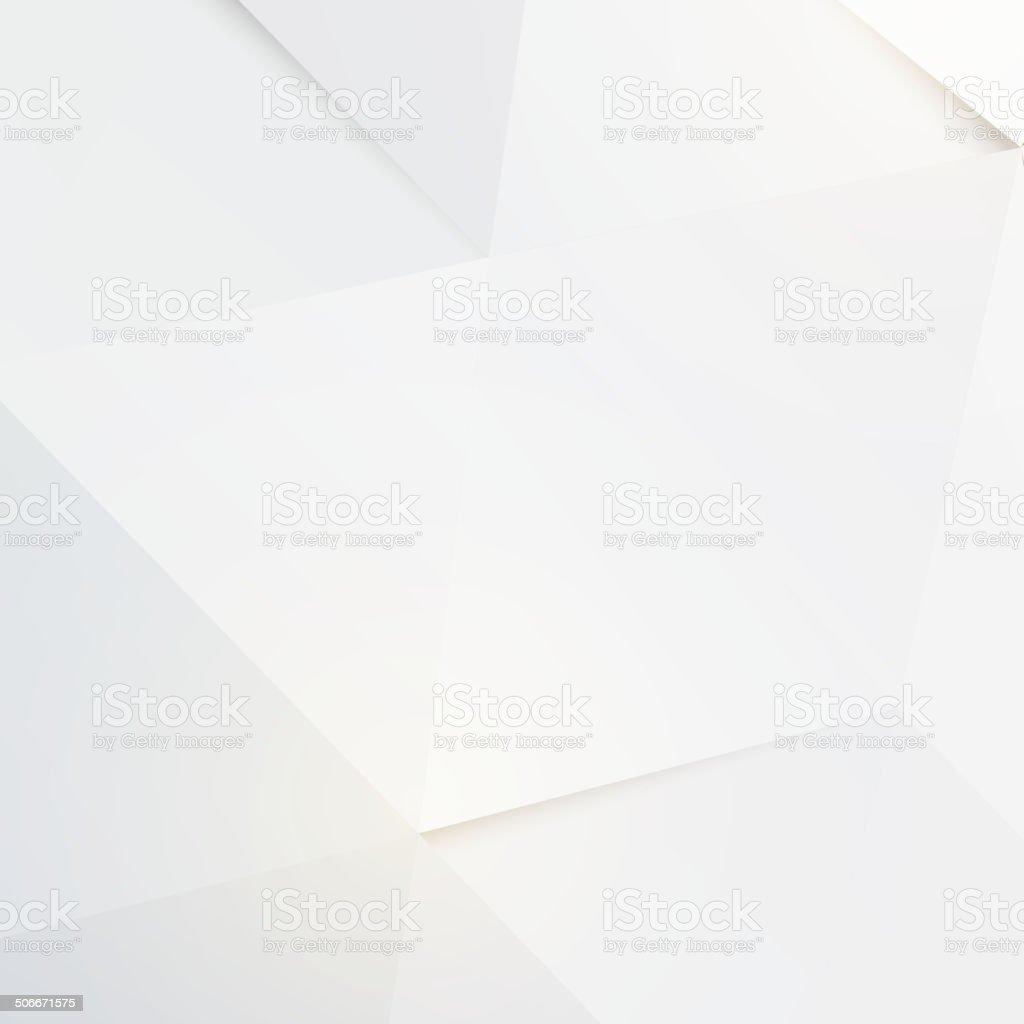 Modern white polygon background, vector illustration vector art illustration