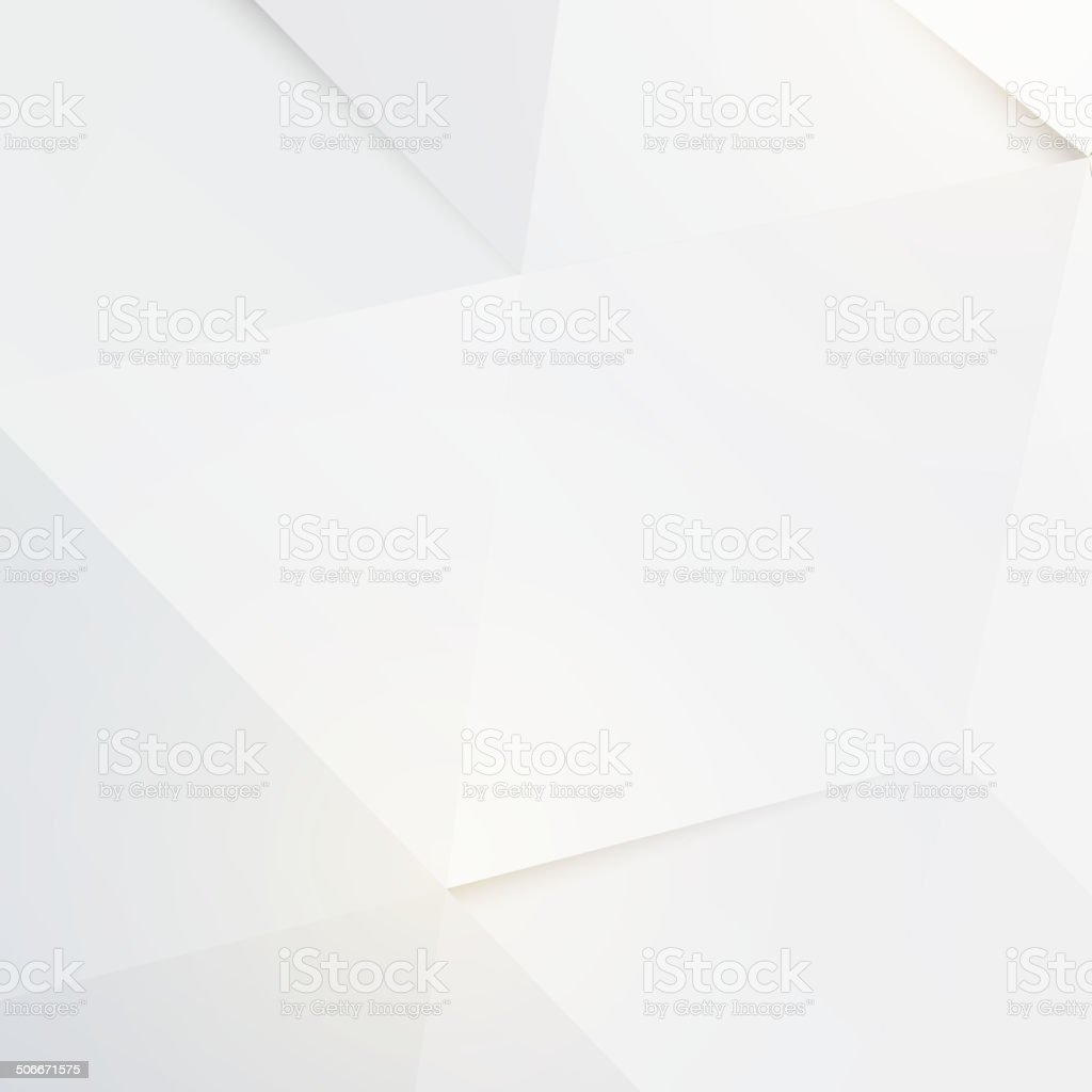 Modern white polygon background, vector illustration vector art illustration