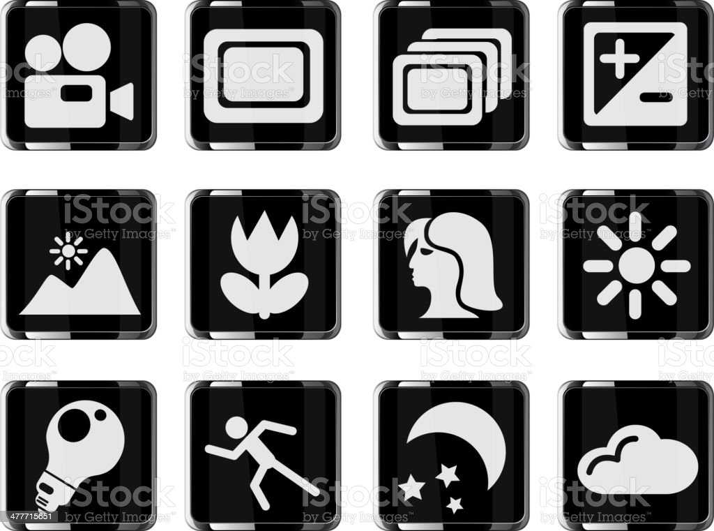 Modes of photo royalty-free stock vector art