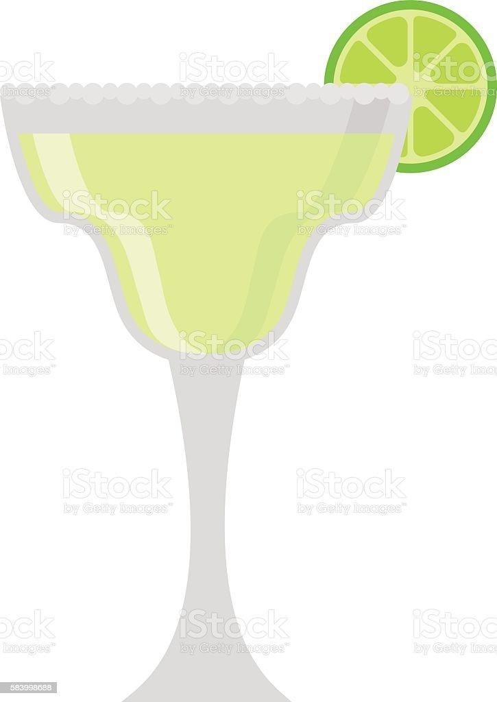 Mojito glass vector illustration. vector art illustration