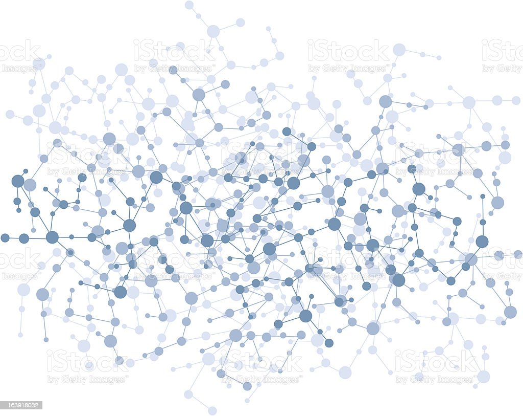 molecule connection background vector royalty-free stock vector art