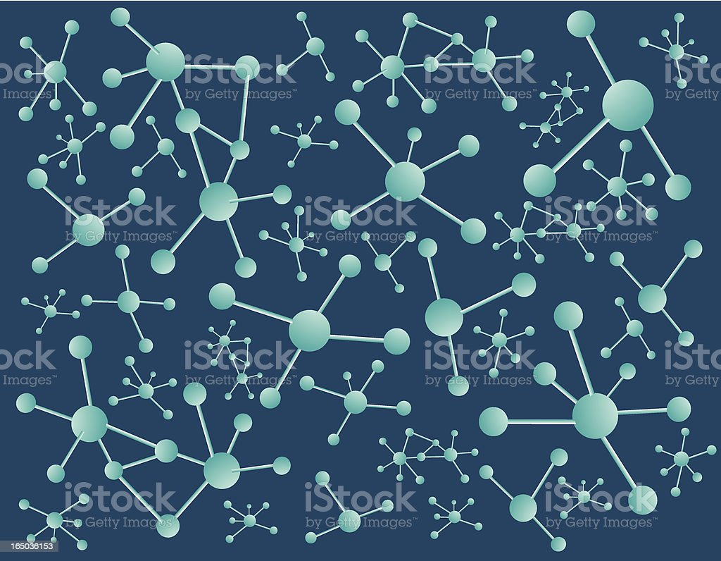 Molecule Science royalty-free stock vector art