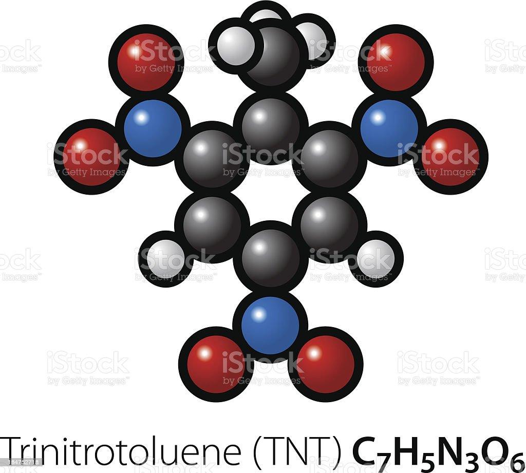 Molecule vector art illustration