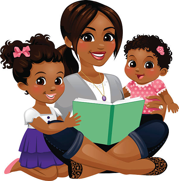 Mother And Daughter Clip Art, Vector Images ...