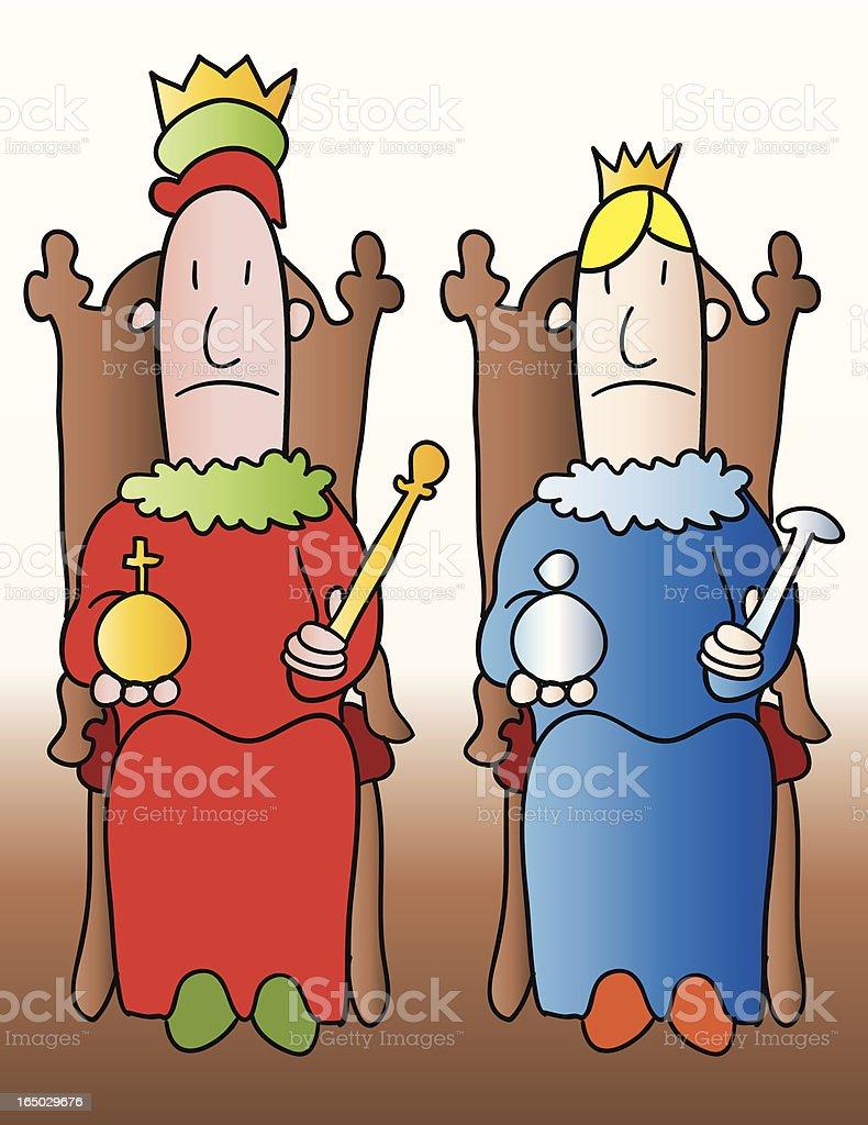 Monarchy royalty-free stock vector art