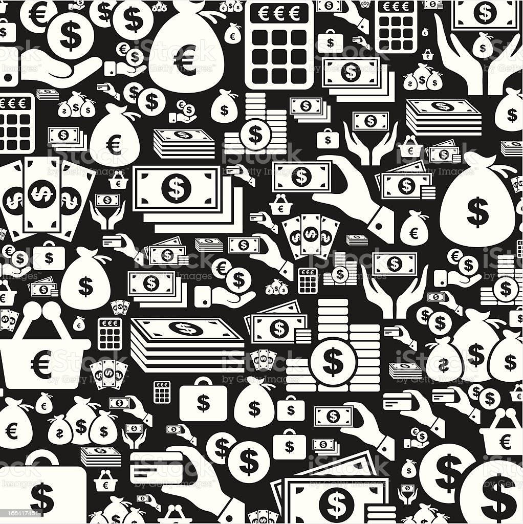 Money a background royalty-free stock vector art