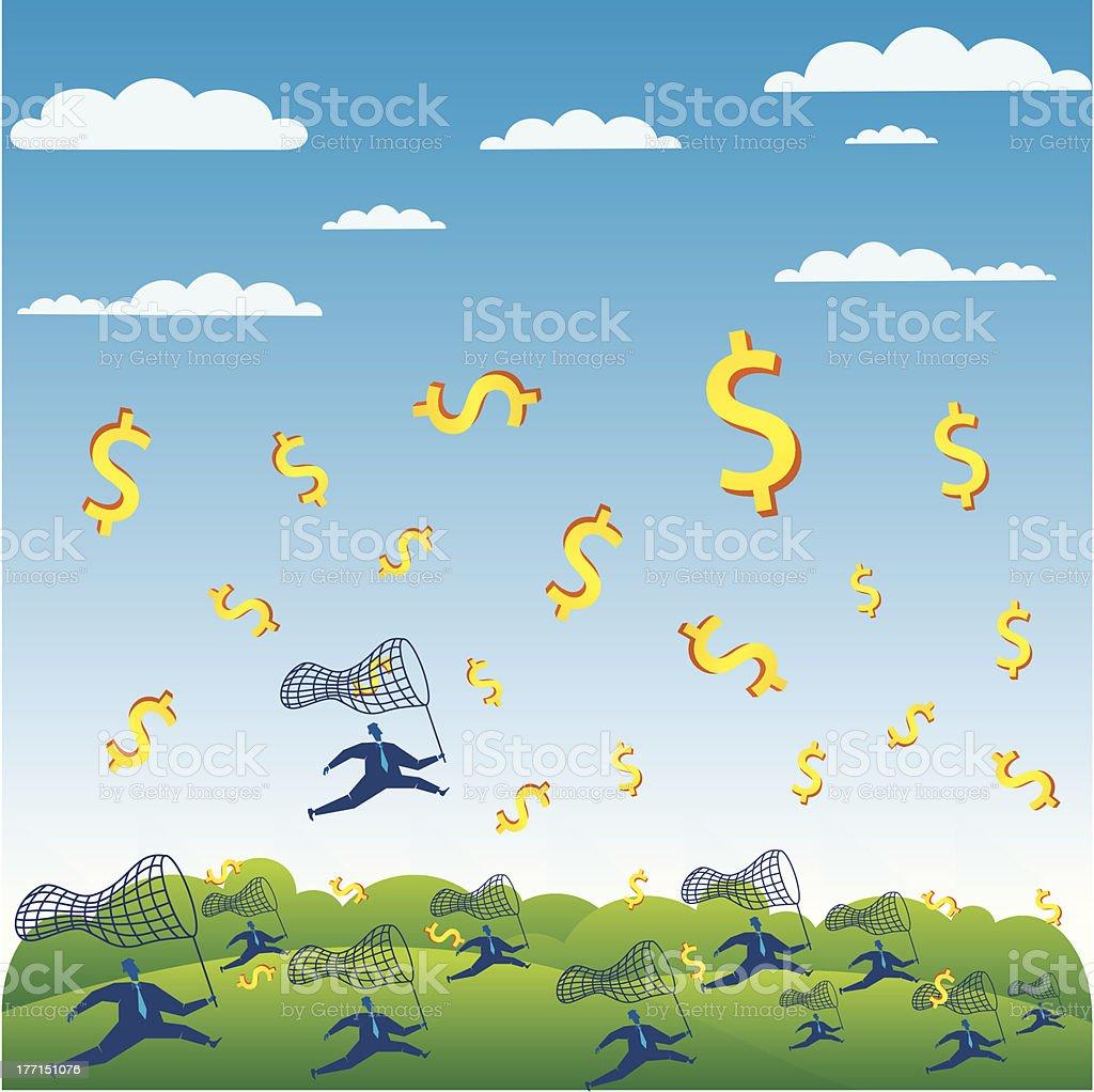 money concept royalty-free stock vector art