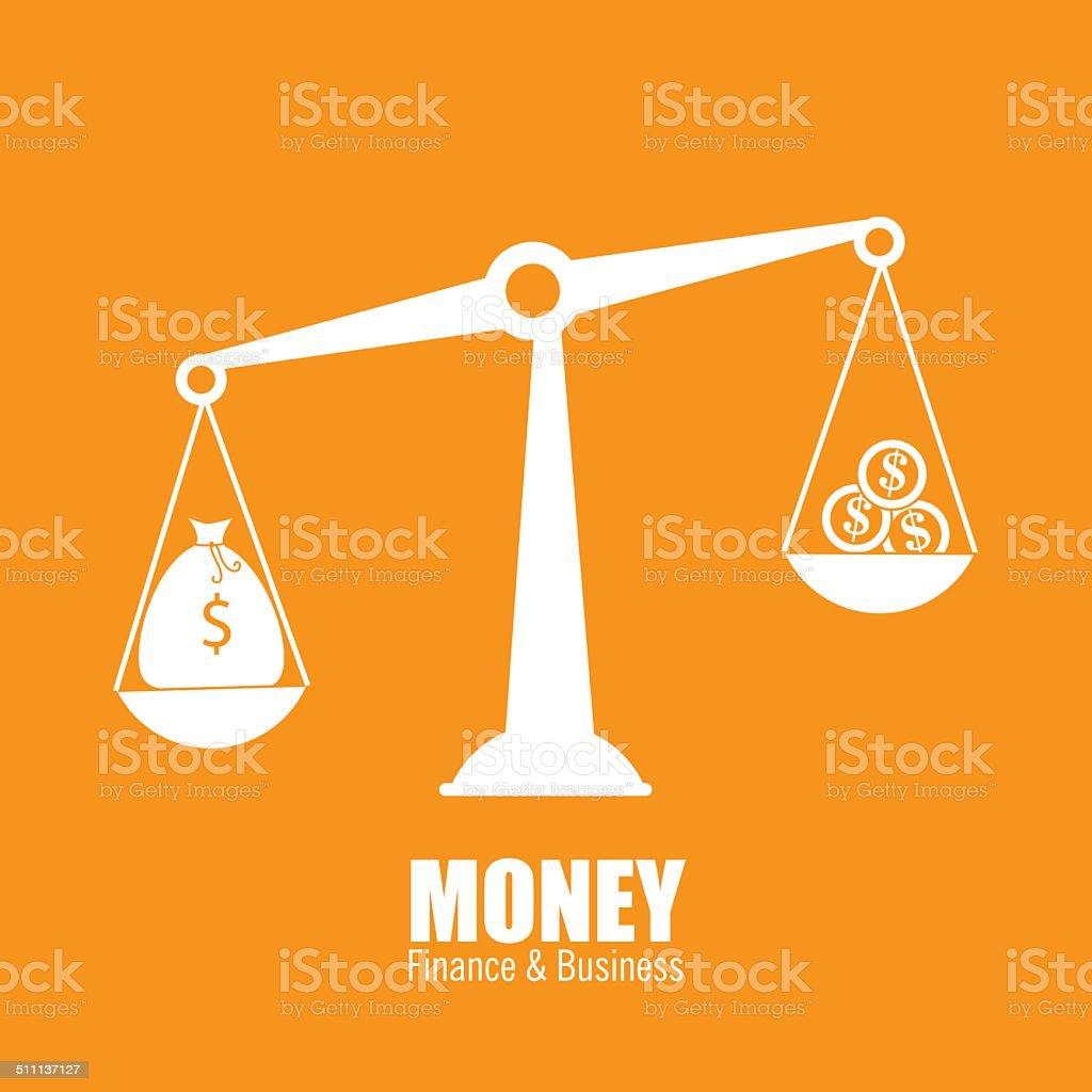 Money design vector art illustration