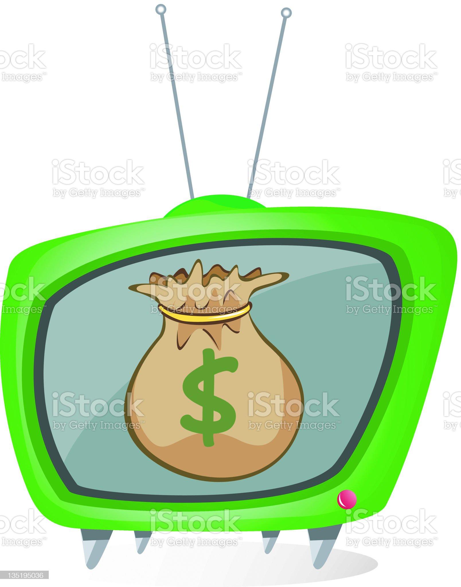 Money Maker royalty-free stock vector art