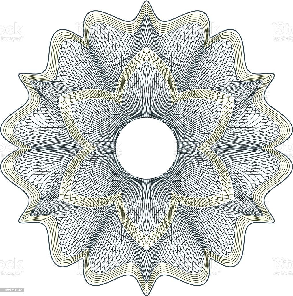 Money Pattern E vector art illustration