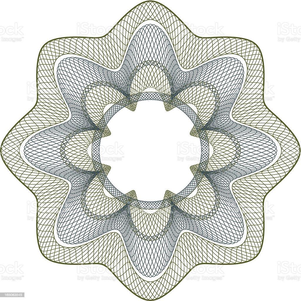 Money Pattern I royalty-free stock vector art