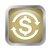 money symbol icon vector