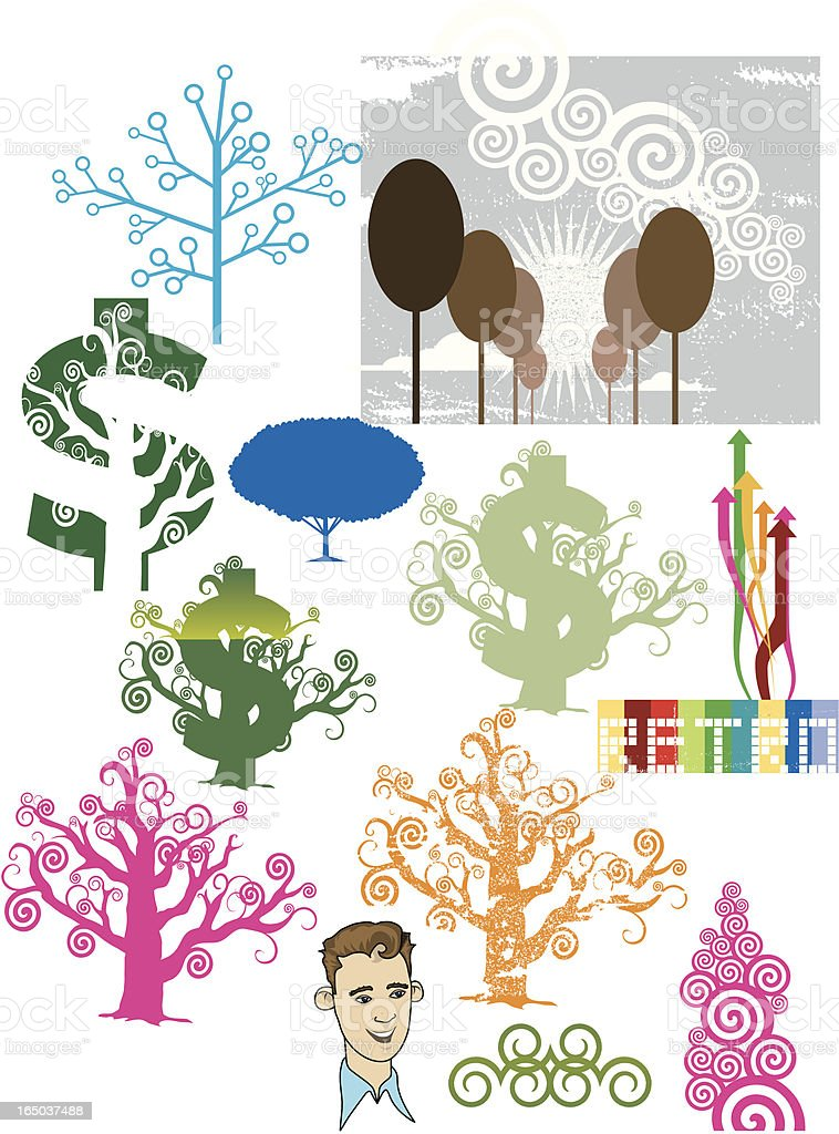 Money Tree and more vector art illustration