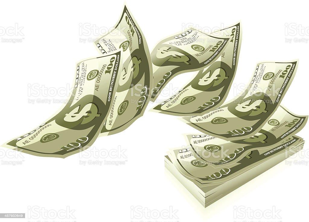 money vector art illustration