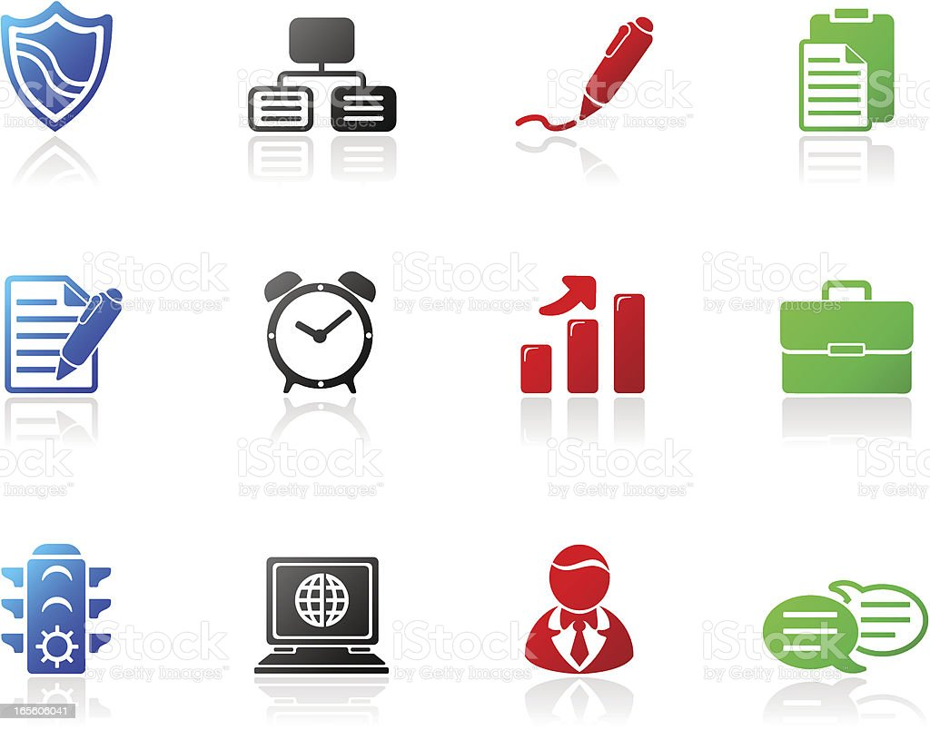 Mono Icons | Series Two royalty-free stock vector art