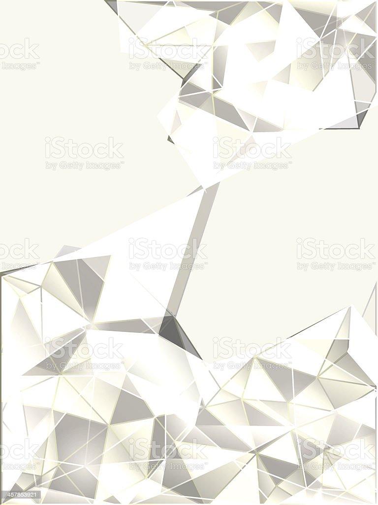 Monochrome abstract background vector art illustration